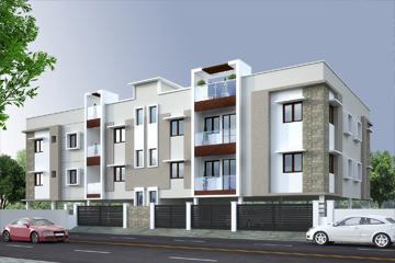 Apartments in Santhoshapuram