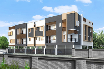 Apartments in Medavakkam